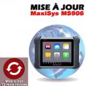 Mise à jour internet pour MS906 1 an