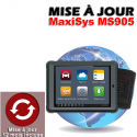 Mise à jour internet pour MS905 1 an