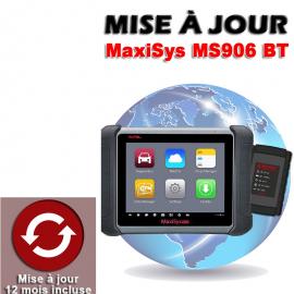 Mise à jour internet pour MS906 BT 1 an
