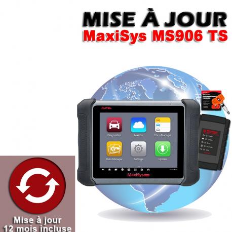 Mise à jour internet pour MS906 TS 1 an