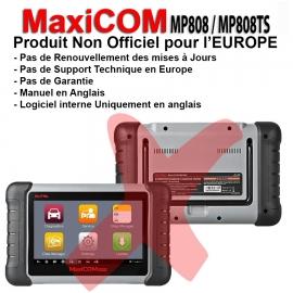 MP808 / MP808 TSoutil non officiel pour l'europe