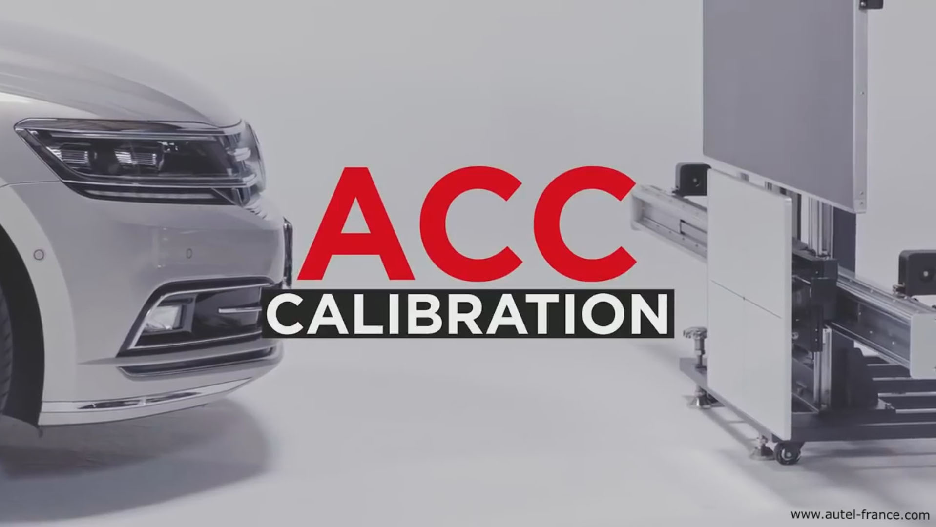 Calibration ACC ADAS