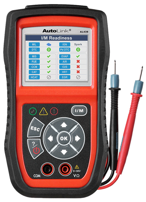 AL439 AUTEL Multimètre diagnostic auto