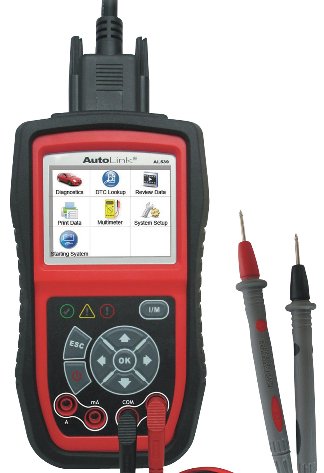 AL539 diagnostic AUTEL multimètre