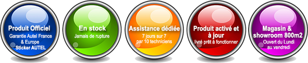 Outils de diagnostic AUTEL officiel FRANCE