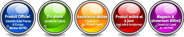 Outils de diagnostic AUTEL officiel FRANCE