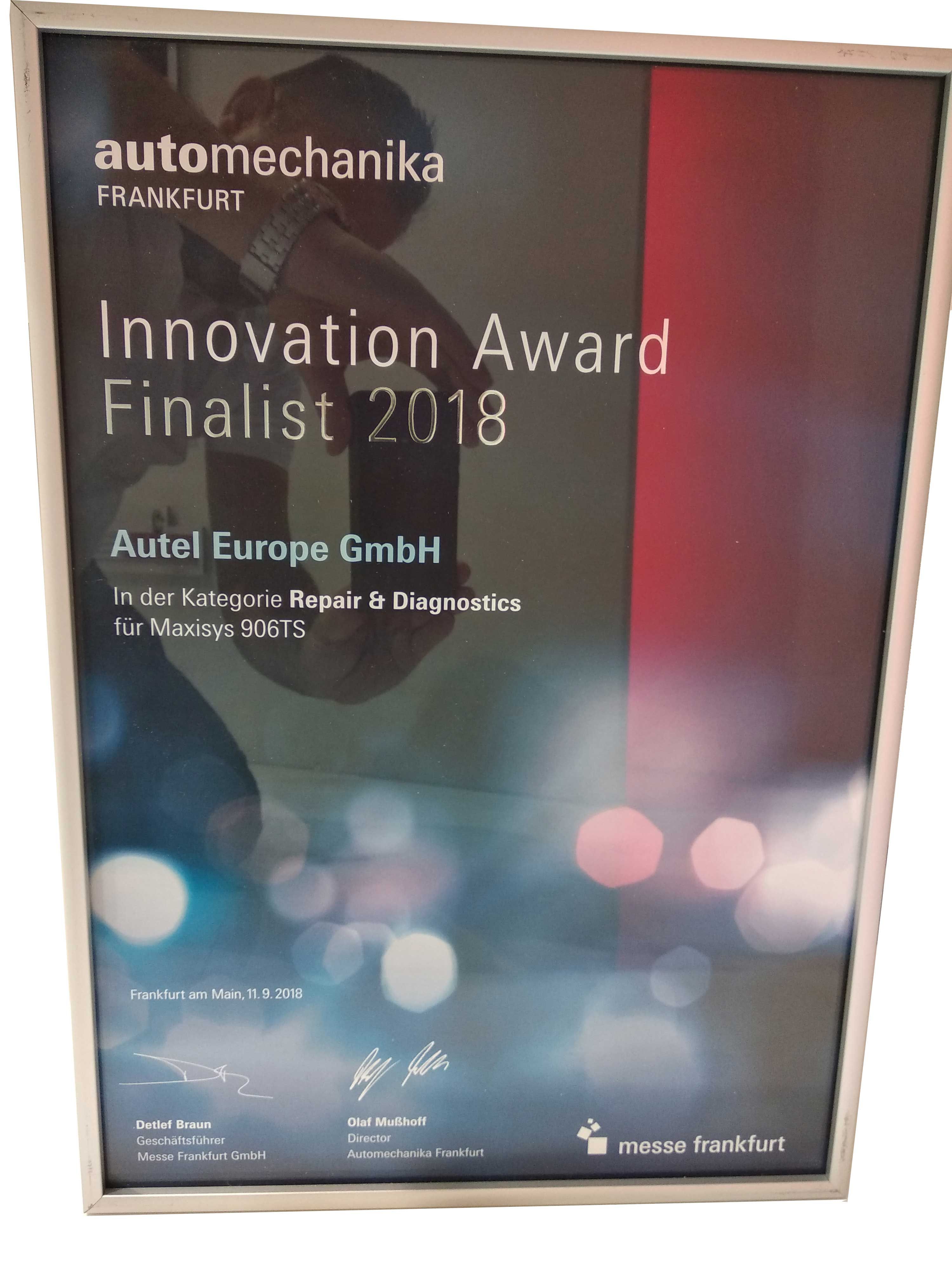 innovation award 2018 automechanika