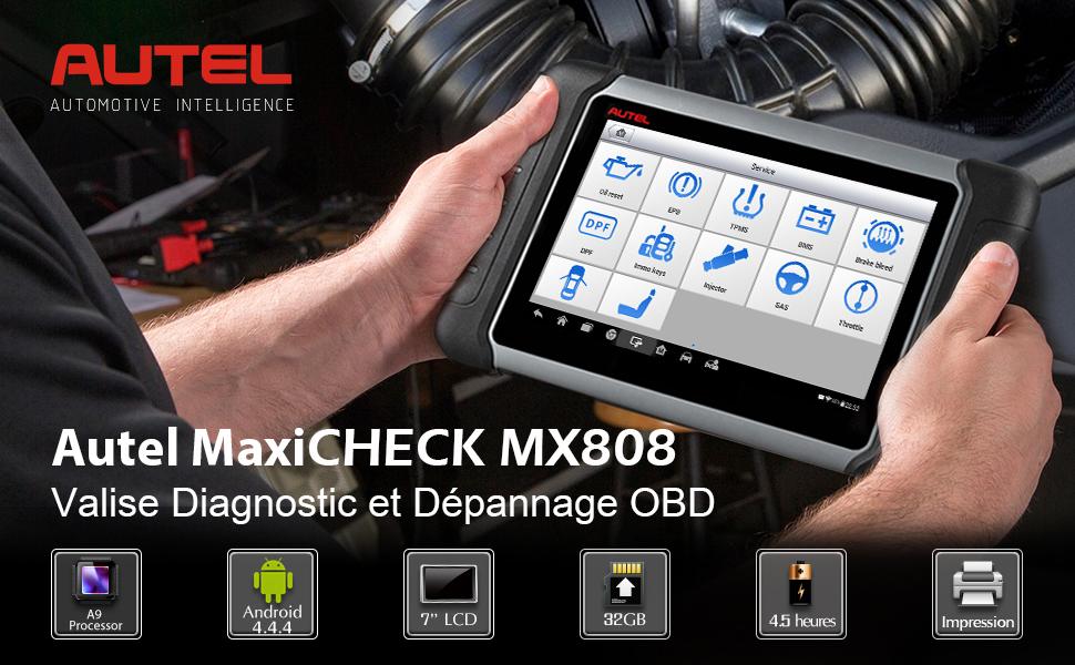MaxiCHECK MX808 | MaxiCOM MK808