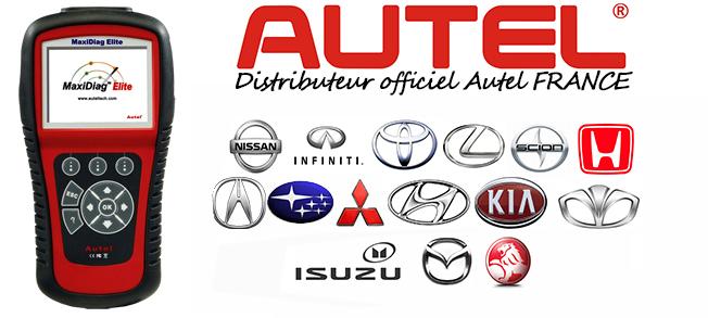 MD701 valise diagnostic Nissan, Infiniti, Toyota, Lexus, Scion, Honda, Acura, Subaru, Mitsubishi, Suzuki, Isuzu, Hyundai, Kia, Daewoo, Mazda, Holden.