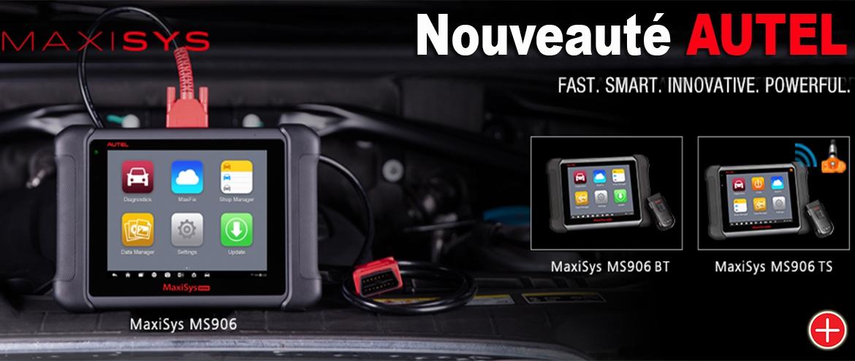 Valise de diagnostic automobile AUTEL MaxiSys MS906 nouveauté 2016