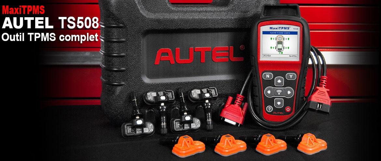 MaxiTpms TS508 outils valves TPMS le plus puissant au monde 98% parc auto mondial
