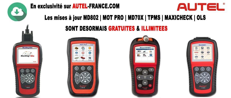 Mises à jour gratuite MD802 | Mot PRO eu908 | MD701 | MD702 | MD703 | MD704 | MAxicheck